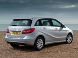 Mercedes-Benz B 180 CDI BlueEfficiency UK-spec (W246) 2012 images