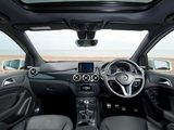Mercedes-Benz B 200 BlueEfficiency UK-spec (W246) 2012 wallpapers