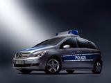 Photos of Mercedes-Benz B-Klasse Polizei (W245) 2005–08