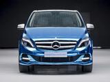 Photos of Mercedes-Benz B-Klasse Electric Drive Concept (W246) 2012