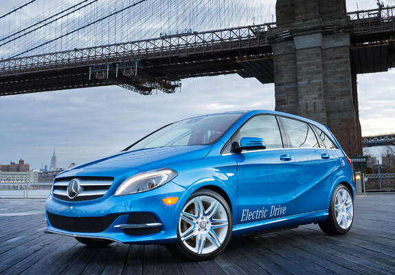 Pictures Of Mercedes Benz B Klasse Electric Drive Us Spec W246 2013