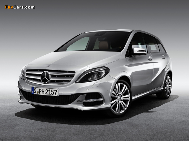 Mercedes-Benz B 200 CNG (W246) 2013 wallpapers (640 x 480)