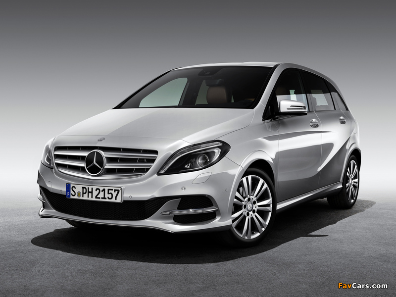 Mercedes-Benz B 200 CNG (W246) 2013 wallpapers (800 x 600)
