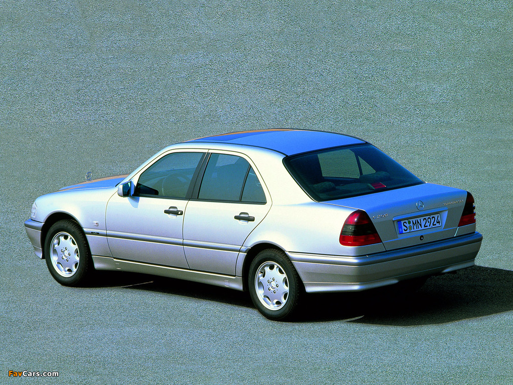 Images of Mercedes-Benz C 250 Turbodiesel (W202) 1995–2000 (1024 x 768)