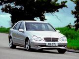 Images of Mercedes-Benz C 320 UK-spec (W203) 2000–05