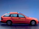 Images of Mercedes-Benz C-Klasse Estate Feuerwehr (S203) 2005–07