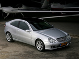 Images of Mercedes-Benz C 180 Kompressor Sportcoupe (C203) 2005–07