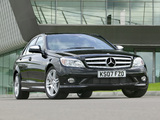 Images of Mercedes-Benz C 220 CDI Sport UK-spec (W204) 2007–11