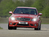 Images of Mercedes-Benz C 63 AMG UK-spec (W204) 2007–11