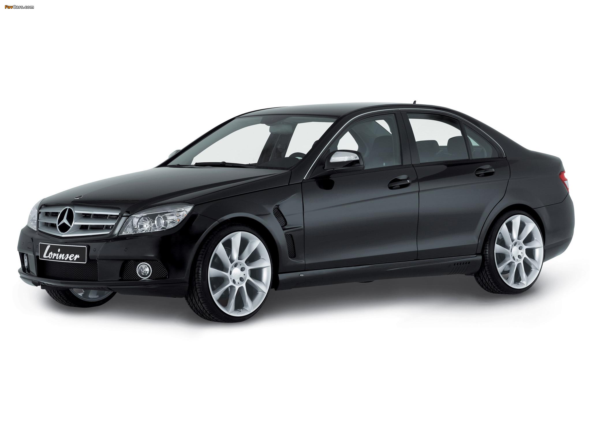 Images of Lorinser Mercedes-Benz C-Klasse (W204) 2007–11 (2048 x 1536)