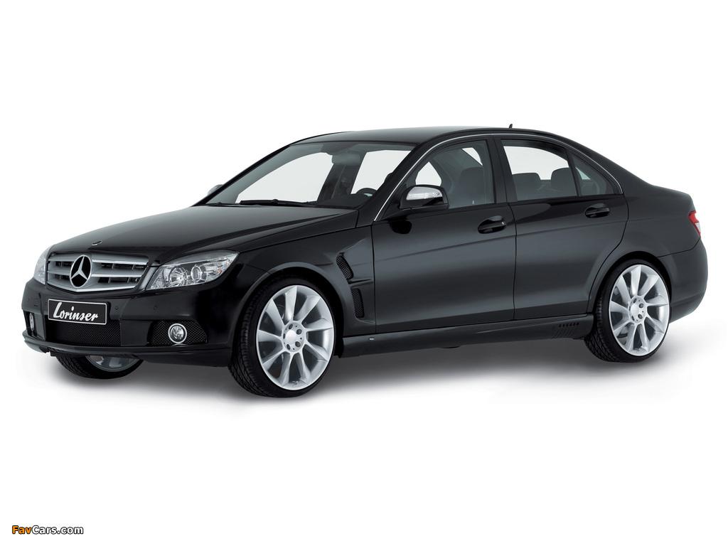 Images of Lorinser Mercedes-Benz C-Klasse (W204) 2007–11 (1024 x 768)