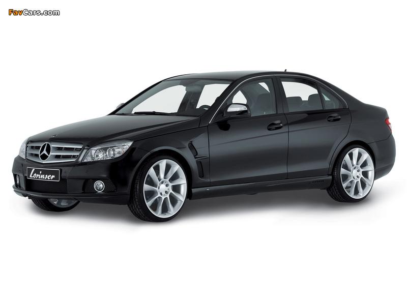 Images of Lorinser Mercedes-Benz C-Klasse (W204) 2007–11 (800 x 600)