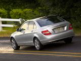Images of Mercedes-Benz C 300 US-spec (W204) 2007–11