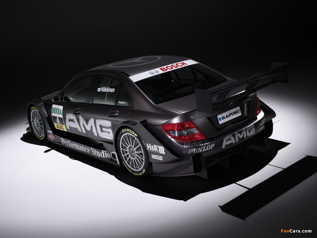 Images of Mercedes-Benz C AMG DTM (W204) 2007–10 (1024 x 768)