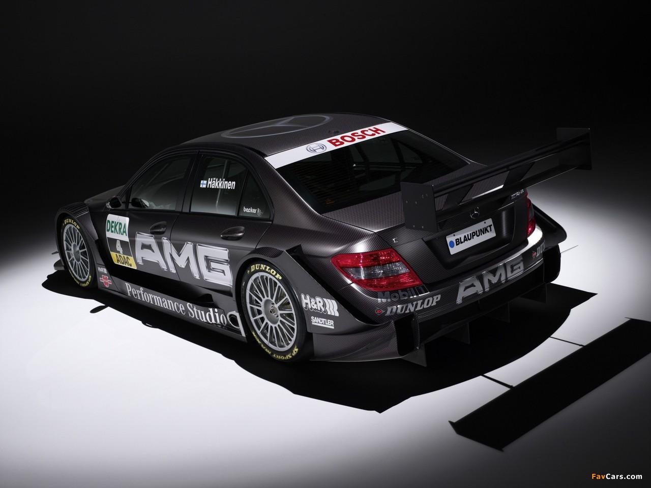 Images of Mercedes-Benz C AMG DTM (W204) 2007–10 (1280 x 960)