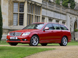 Images of Mercedes-Benz C 220 CDI Sport Estate UK-spec (S204) 2008–11