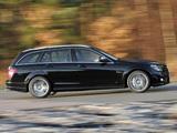 Images of Mercedes-Benz C 63 AMG Estate UK-spec (S204) 2008–11