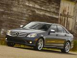 Images of Mercedes-Benz C 350 Sport US-spec (W204) 2008–11