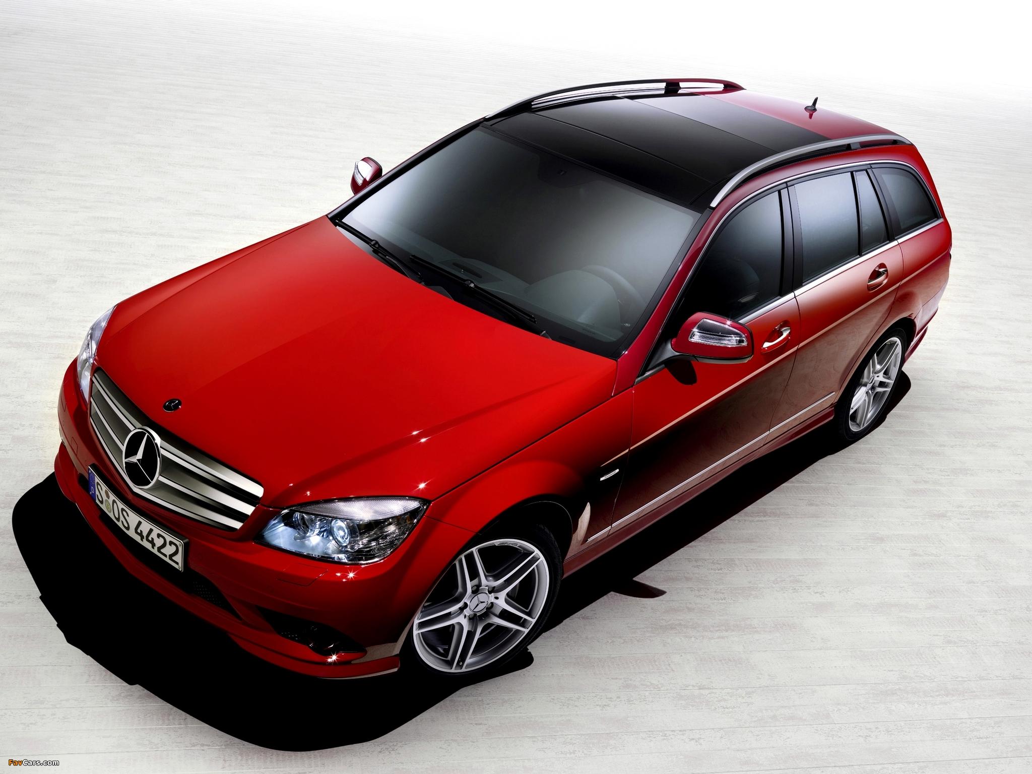 Images of Mercedes-Benz C 350 Estate (S204) 2008–11 (2048 x 1536)