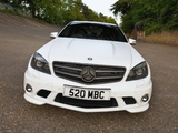 Images of Mercedes-Benz C 63 AMG DR520 (W204) 2010