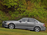 Images of Mercedes-Benz C 300 Sport US-spec (W204) 2010–11