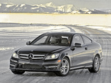 Images of Mercedes-Benz C 350 4MATIC Coupe US-spec (C204) 2011