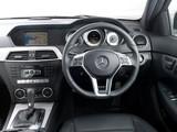 Images of Mercedes-Benz C 220 CDI Coupe UK-spec (C204) 2011