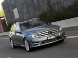 Images of Mercedes-Benz C 250 CDI AMG Sports Package Estate AU-spec (S204) 2011