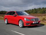 Images of Mercedes-Benz C 250 CDI AMG Sports Package Estate UK-spec (S204) 2011