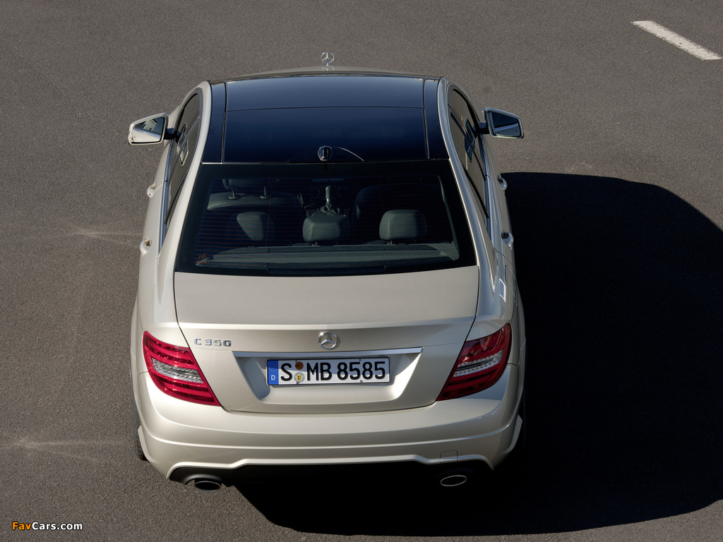 Images of Mercedes-Benz C 350 AMG Sports Package (W204) 2011 (1024 x 768)
