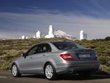 Images of Mercedes-Benz C 350 BlueEfficiency (W204) 2011