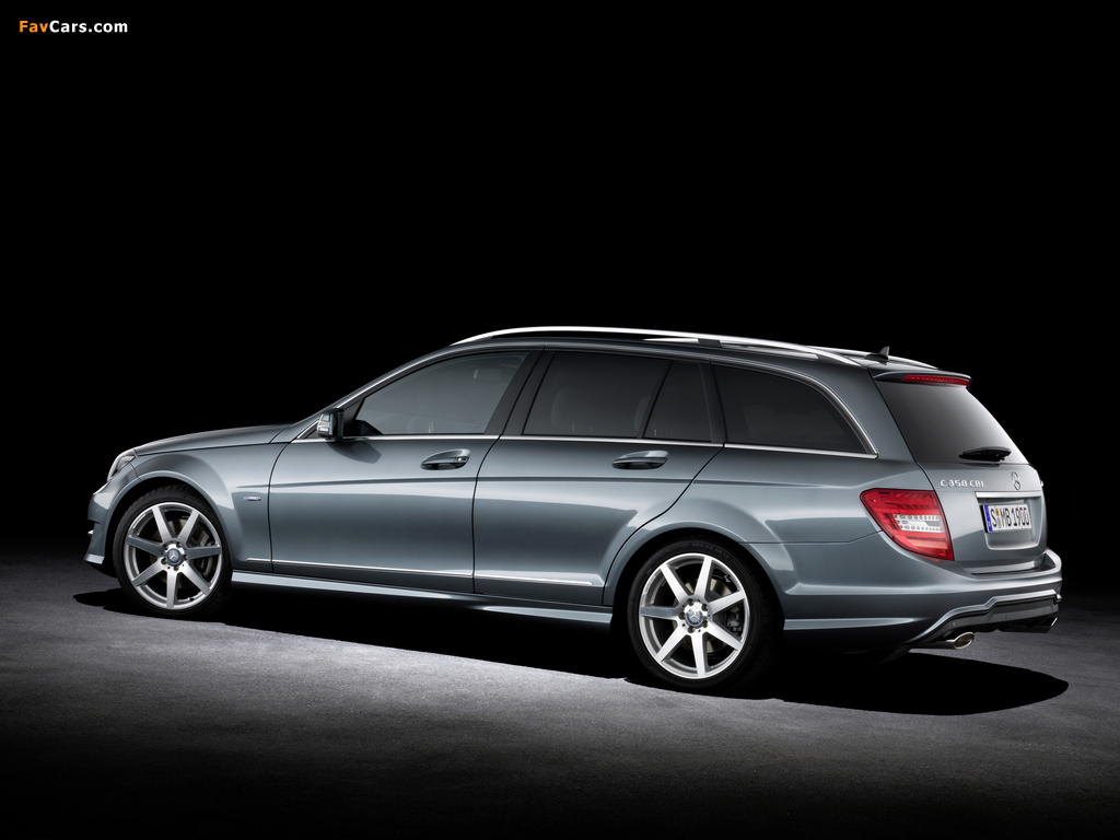 Images of Mercedes-Benz C 350 CDI 4MATIC AMG Sports Package Estate (S204) 2011 (1024 x 768)