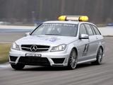 Images of Mercedes-Benz C 63 AMG Estate F1 Medical Car (S204) 2011