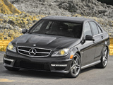 Images of Mercedes-Benz C 63 AMG US-spec (W204) 2011
