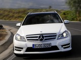 Images of Mercedes-Benz C 250 AMG Sports Package Estate (S204) 2011
