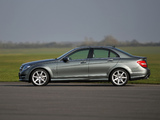 Images of Mercedes-Benz C 220 CDI AMG Sports Package UK-spec (W204) 2011