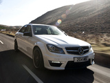 Images of Mercedes-Benz C 63 AMG UK-spec (W204) 2011