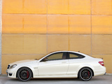 Images of Mercedes-Benz C 63 AMG Coupe (C204) 2011