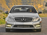 Images of Mercedes-Benz C 250 Coupe Sport US-spec (C204) 2012