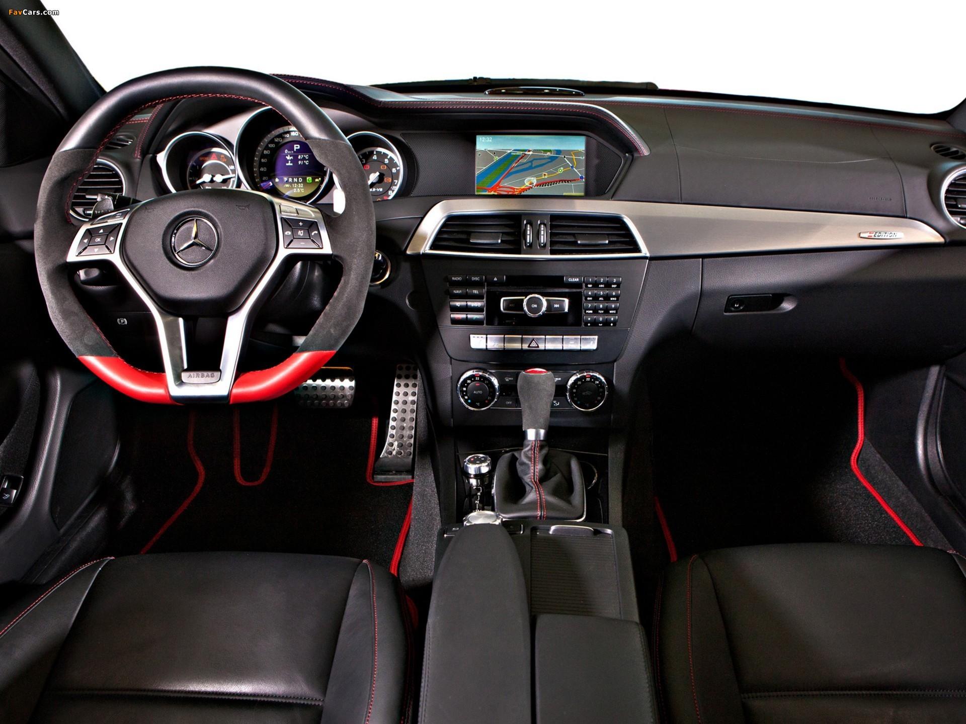 Images of Mercedes-Benz C 63 AMG Coupe Austria Edition (C204) 2012 (1920 x 1440)
