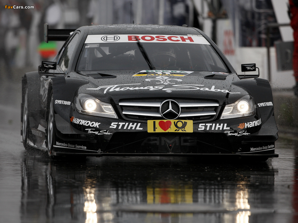 Images of Mercedes-Benz C AMG DTM (C204) 2012 (1024 x 768)