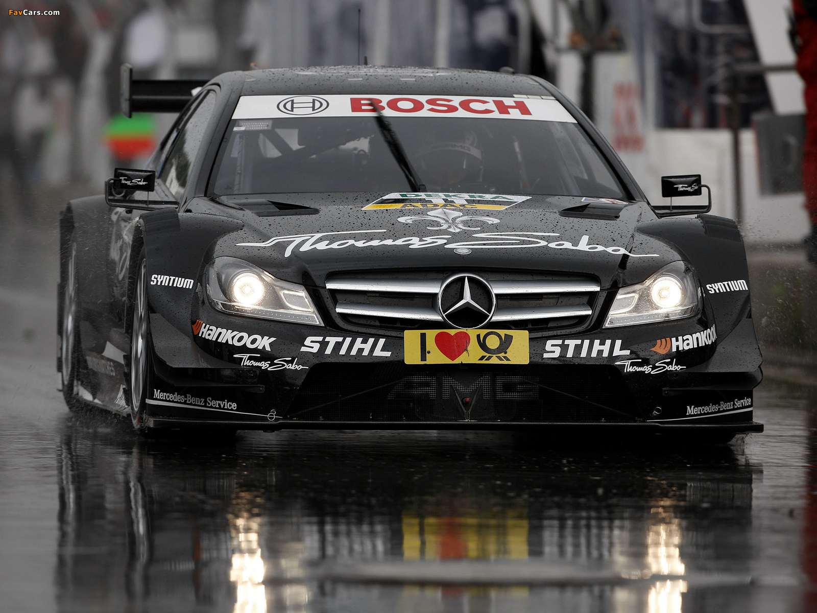 Images of Mercedes-Benz C AMG DTM (C204) 2012 (1600 x 1200)