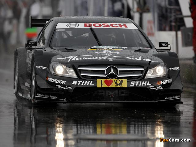Images of Mercedes-Benz C AMG DTM (C204) 2012 (640 x 480)
