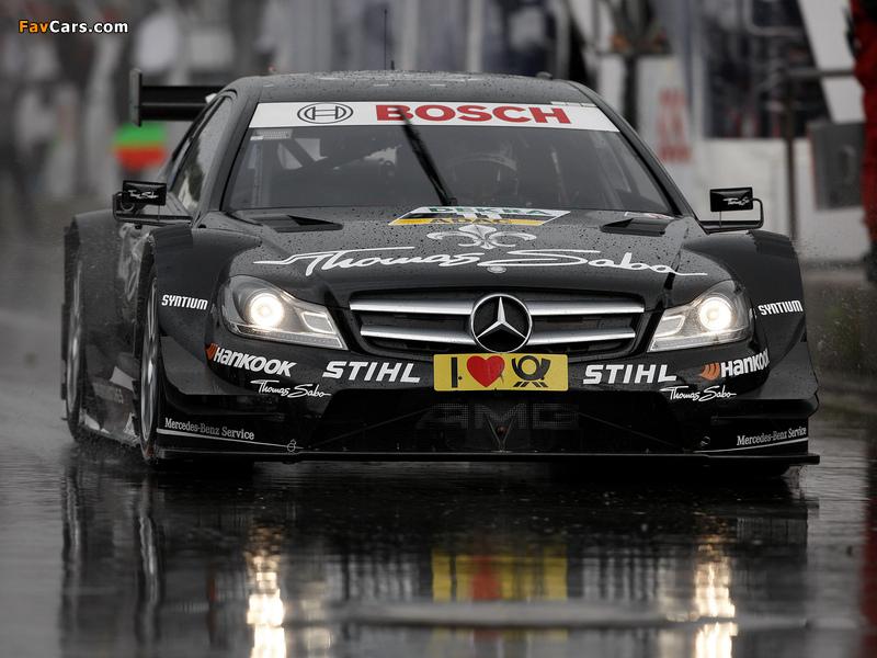 Images of Mercedes-Benz C AMG DTM (C204) 2012 (800 x 600)