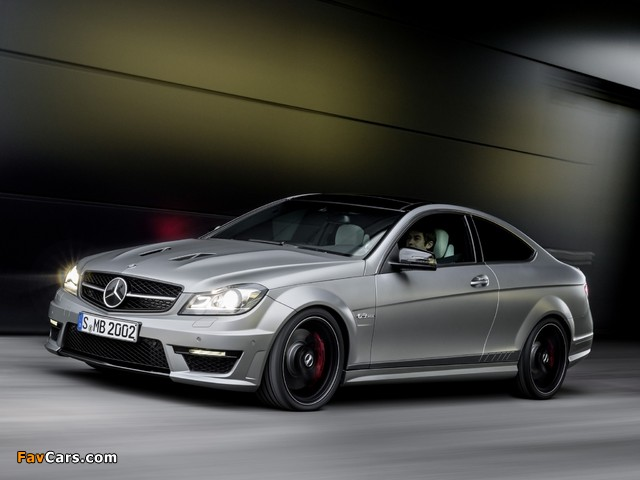 Images of Mercedes-Benz C 63 AMG Coupe Edition 507 (C204) 2013 (640 x 480)