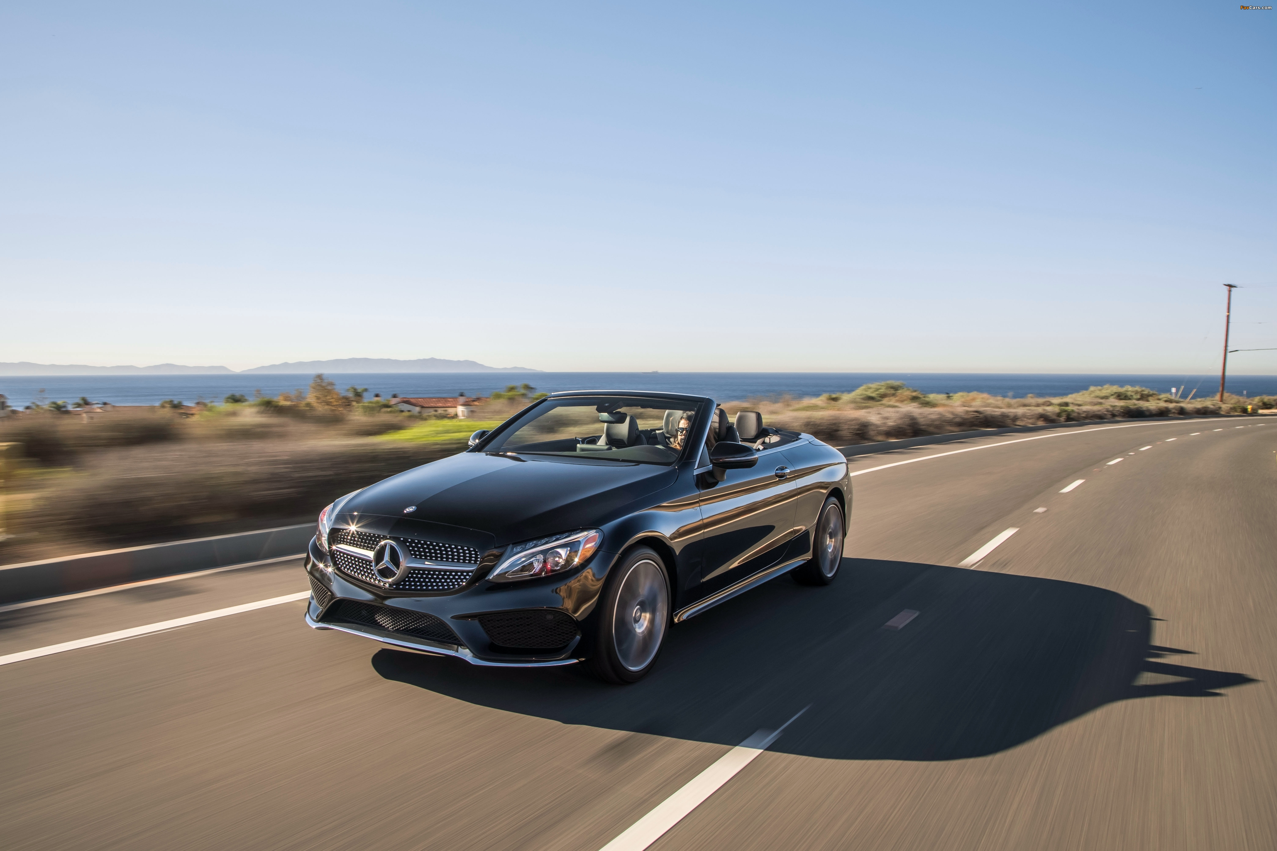 Images of Mercedes-Benz C 300 4MATIC Cabriolet AMG Line North America (C205) 2016 (4096 x 2731)