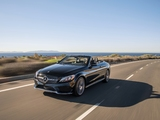 Images of Mercedes-Benz C 300 4MATIC Cabriolet AMG Line North America (C205) 2016