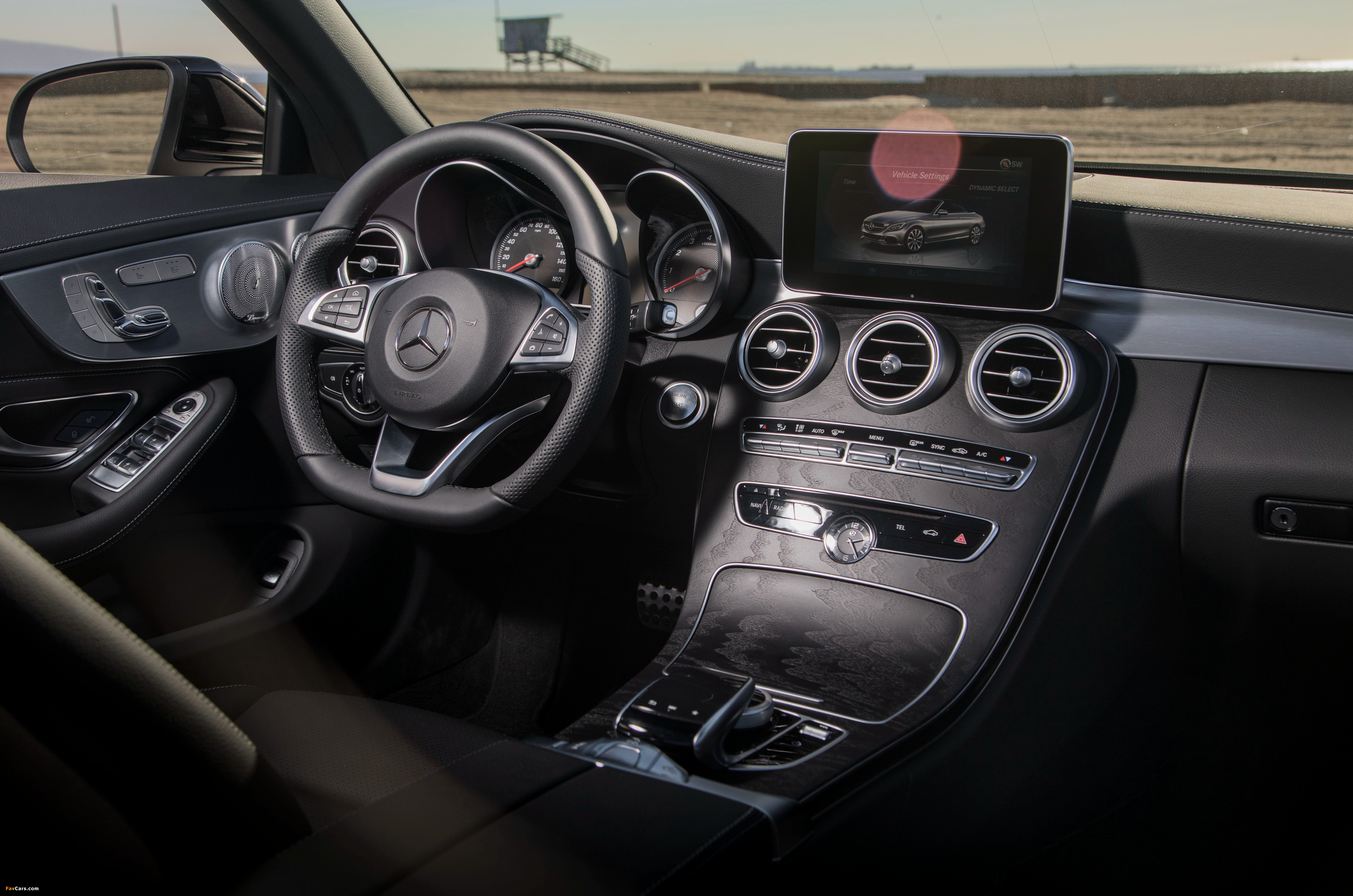 Images of Mercedes-Benz C 300 4MATIC Cabriolet AMG Line North America (C205) 2016 (4096 x 2714)