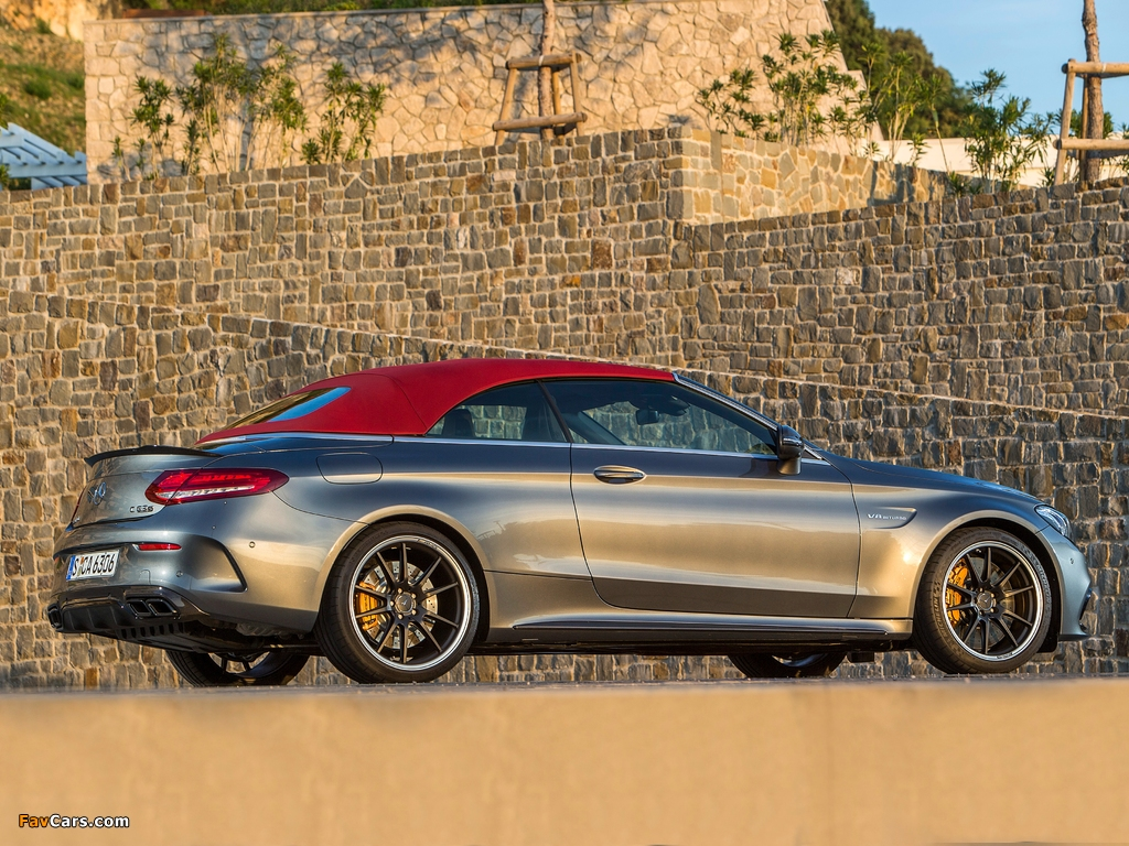 Images of Mercedes-AMG C 63 S Cabriolet (A205) 2016 (1024 x 768)