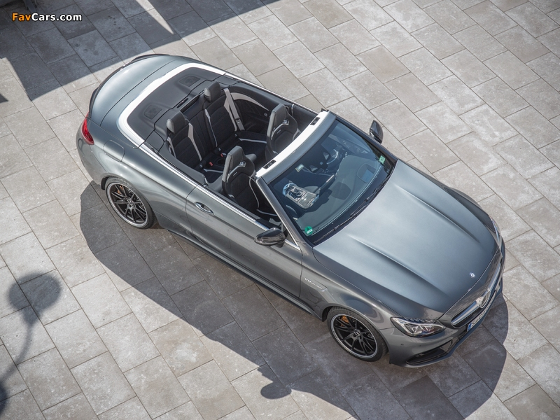 Images of Mercedes-AMG C 63 S Cabriolet (A205) 2016 (800 x 600)